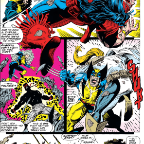 EVERYBODY FIGHTS EVERYBODY SOME MORE (X-Force #16)