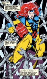 This is not actually a lot like child-rearing. (Uncanny X-Men #295)
