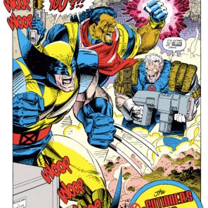 NEXT ISSUE: Three men without inside voices. (Uncanny X-Men #295)