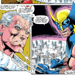 """""""Also, sorry 'bout your table."""" (Uncanny X-Men #296)"""