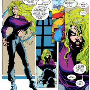 This could have worked, handled differently; but boy does it not. (X-Factor #87)