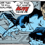 """Like, organs and stuff."" (X-Force #18)"