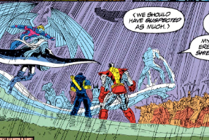 Iceman speaks for us all, here. (Uncanny X-Men #300)