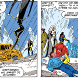 I mean, they were living there anyway, and it's probably just as well that you saved them from being murdered, but you do you. (Uncanny X-Men #298)