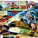 Colossus is still all about cathartic landscaping. (X-Men #17)