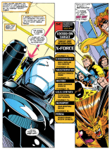 X-Force really only has the one setting. (X-Force #21)