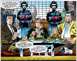 At this point, Matsuo's hair may actually be more aggressively styled than Wolverine's. (X-Men #22)