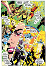 I know there are a lot of full pages in this visual companion. Blame Alan Davis, I guess? But in a good way. (Excalibur #66)