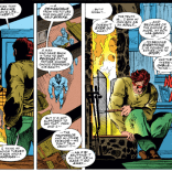 And you thought that conversations with YOUR grandparents were awkward. (X-Men #22)