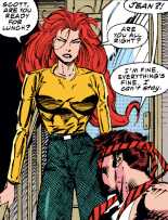 We have reached peak Scott Summers. (X-Men #20)