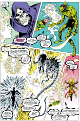 Death is a remarkably chill cosmic entity. (Excalibur #63)