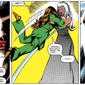 TBH, a lot of Kitty's dreams probably start like this. (X-Men Annual #6)