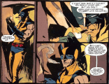 The costume goes on! (Wolverine: Killing)