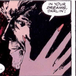 Wolverine: the man so manly his stubble will fight you. (Actually, it's adamantium.) (Not the stubble; that's just stubble.) (You get the idea, though.) (Wolverine: Inner Fury)