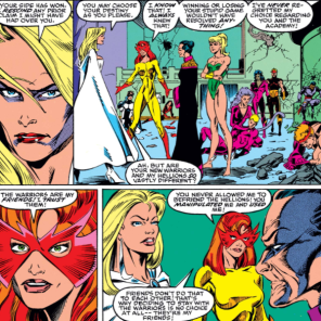 You tell her, Firestar! (New Warriors #10)