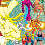 Of all the people Gamesmaster could choose to bring to the forefront of his mind, he chose these assholes. (Uncanny X-Men #301)