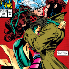 Andy Kubert is really exceptionally good at drawing kisses and almost-kisses. (X-Men #24)