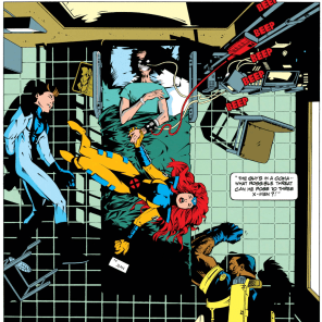 Okay. This looks bad. (Uncanny X-Men Annual #17)