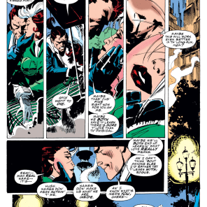 These two have been written pretty unevenly over the years, so it's easy to forget how good a couple they can be. (X-Men #24)