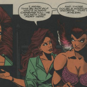 Kitty X-Plains your dreams. (Excalibur Annual #1)
