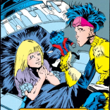Another scene from the alternate universe where A Fish Called Wanda was a heartwarming tearjerker about friendship and loss. (Uncanny X-Men #303)