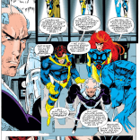 """Professor, this plan is terrible."" (X-Men #25)"