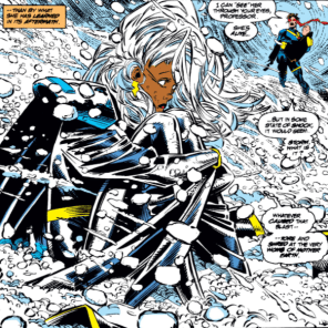 Bachalo's characters are just so expressive! (X-Men Unlimited #1)