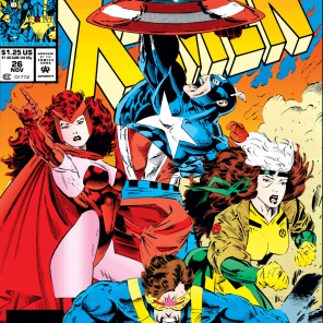 "Everyone else is rushing into battle; and there's Cap, just, like, ""FORGET THIS I'M GONNA FIGHT THE SKY"" (X-Men #26)"