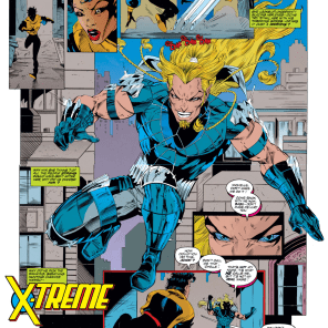 The Longshot of 1993. (X-Force Annual #2)