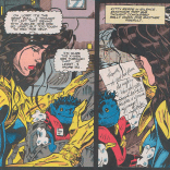 You're a good kid, Jubilee. (Excalibur #74)