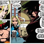 Why is this random blonde dude so hung up on the Cassidy family? We'll never know. (X-Force #31)