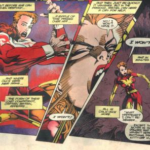 Phoenix demands proportionate arms! (Excalibur #73)