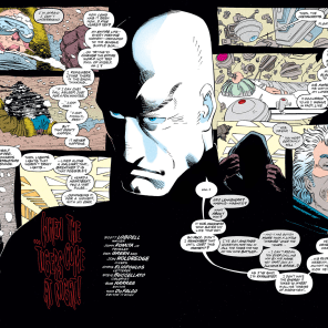 It's very text-heavy in Charles Xavier's brain. (Uncanny X-Men #209)