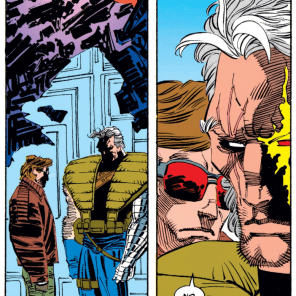 """Look, Nathan, this is basically how we bond in my family."" (Uncanny X-Men #210)"