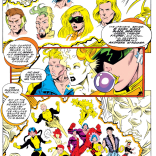 The Gamesmaster X-Plains the current round. (New Warriors #45)