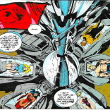 Oh, no! Not... an unnecessarily complicated radial containment array! (X-Force #33)