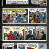 Hey, it's a Sunday page! I don't think my paper got these. (Spider-Man: the newspaper comic strip)