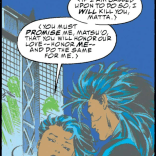 One of those important relationship talks. (X-Men #31)