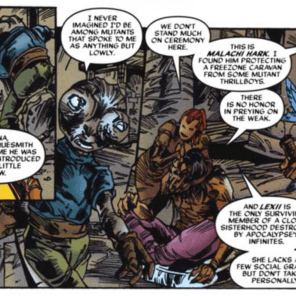 Rachel X-Plains the fledgling Askani fellowship. (X-Men: Phoenix #2)
