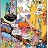 Sunset Grace X-Plains Sunset Grace (and marries Ronald Reagan). (X-Men #35)