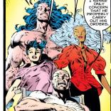 Professor X was definitely naked, right? (X-Men Annual #5)