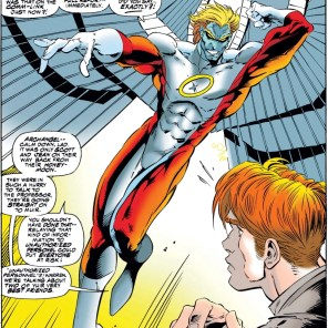 This is actually a great look. Too bad it's a Phalanx doppelgänger. (Uncanny X-Men #316)