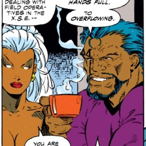 """But, y'know, good luck with that."" (Uncanny X-Men #318)"