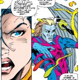 She's not wrong, Warren. (Uncanny X-Men #318)