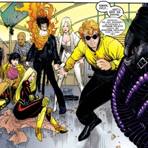 Emplate is so cool and creepy! (Generation X #1)