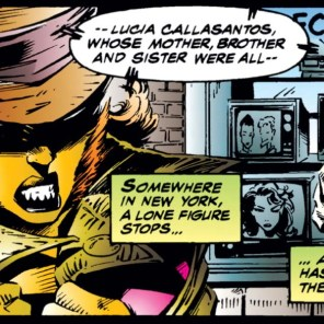 Feral, disguised. (X-Force #40)