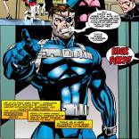 No man has ever looked more like an action figure than Nick Fury does in this panel. (X-Factor #108)