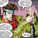 How not to ask your crush out, starring Remy LeBeau, Disaster Bisexual. (X-Men: Chronicles #2)