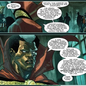 Brother Voodoo X-Plains the premise. (What If? Featuring X-Men: Age of Apocalypse)