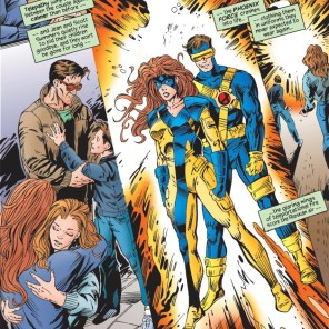 I wonder if the Phoenix designs new costumes every time; and, if so, what its aesthetic phases have been. (What If? vol. 2 #77)